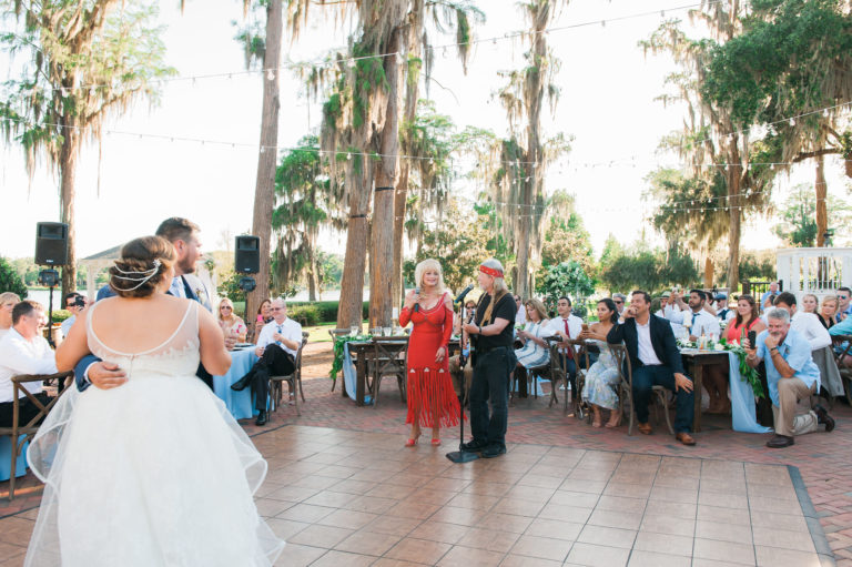 Cypress Grove Estate summer wedding A Chair Affair dance