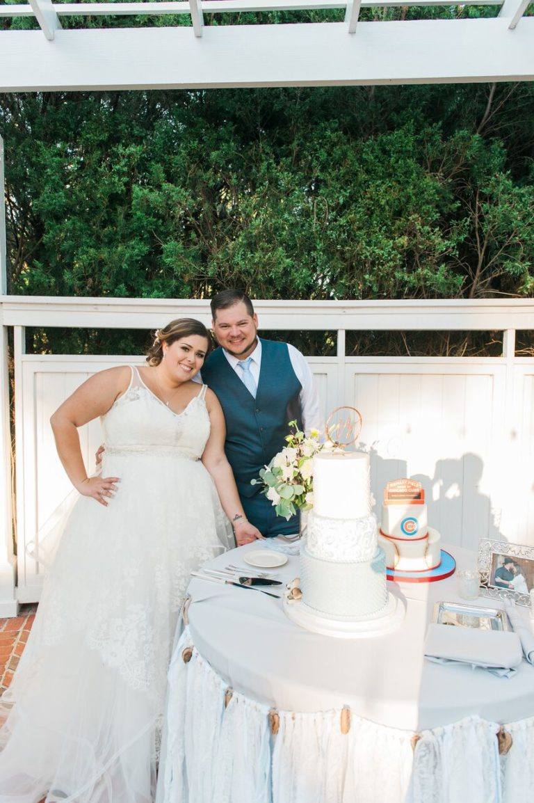 Cypress Grove Estate summer wedding A Chair Affair cake