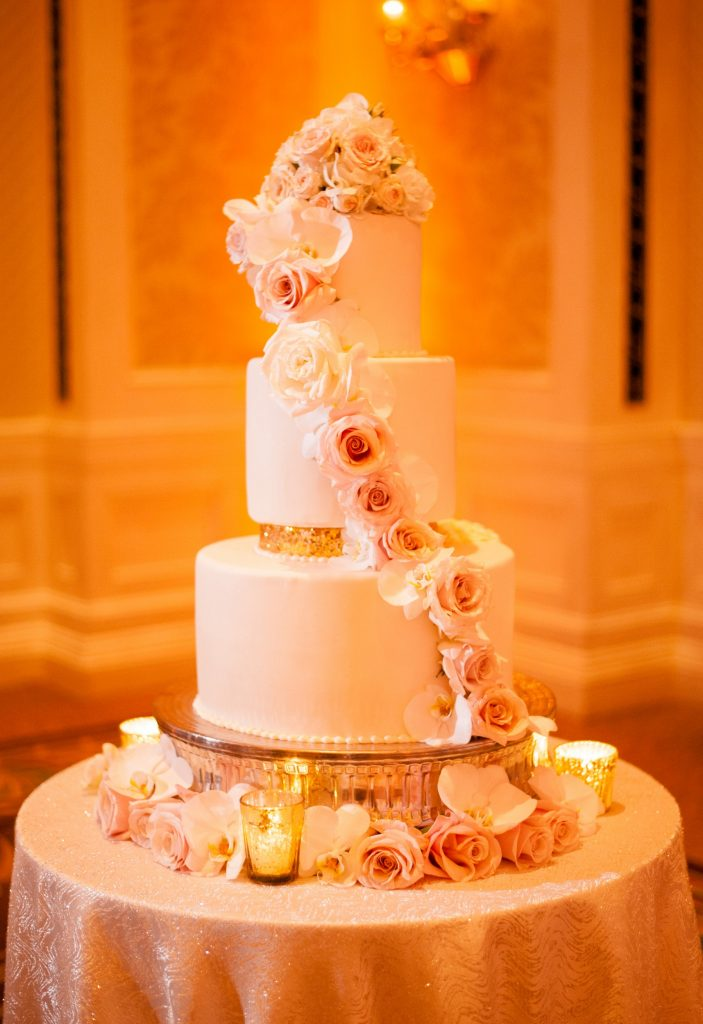 waldorf astoria wedding disney a chair affair cake