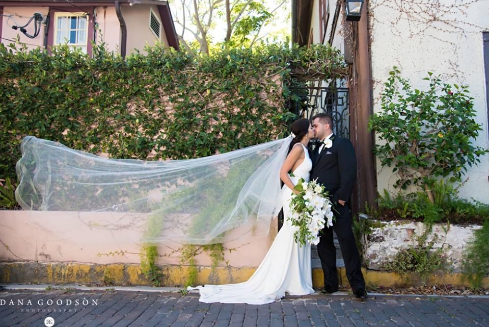 St. augustine wedding a chair affair newlyweds 1