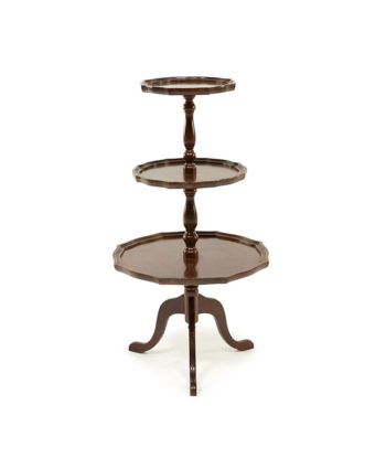 The Melvin Three Tiered Table - A Chair Affair Rentals