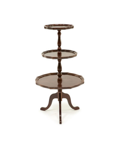 The Melvin Three Tiered Table – A Chair Affair Rentals