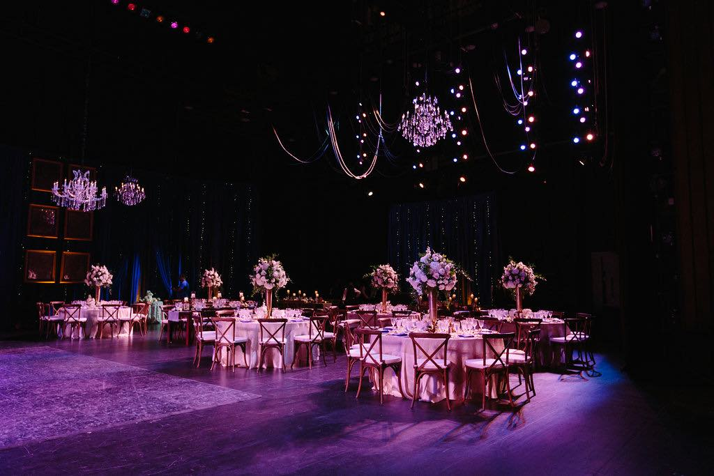 Broadway-inspired Wedding at Straz Center A Chair Affair French Country Chairs