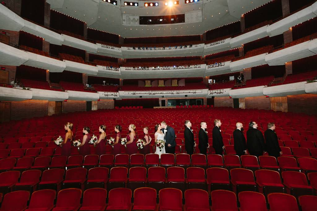 Broadway-inspired Wedding at Straz Center A Chair Affair Theatre
