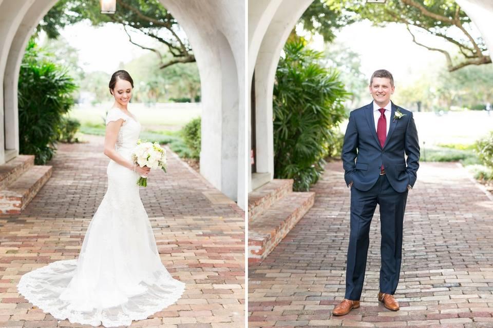 Casa Feliz Wedding A Chair Affair bride groom