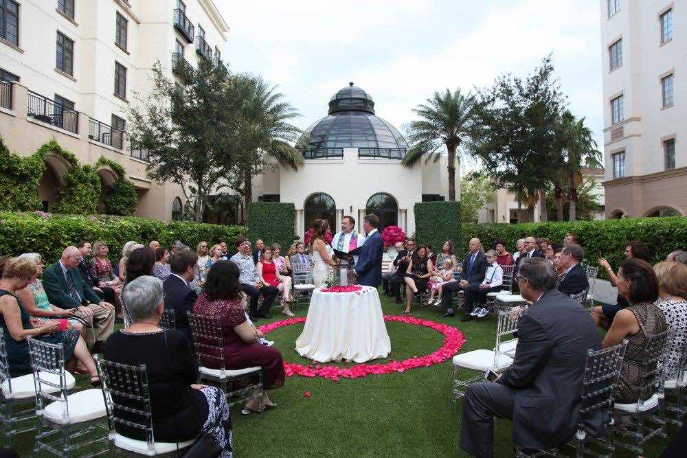 Classic Black and White Alfond Inn Wedding A Chair Affair Ceremony