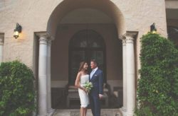 Classic Black and White Alfond Inn Wedding