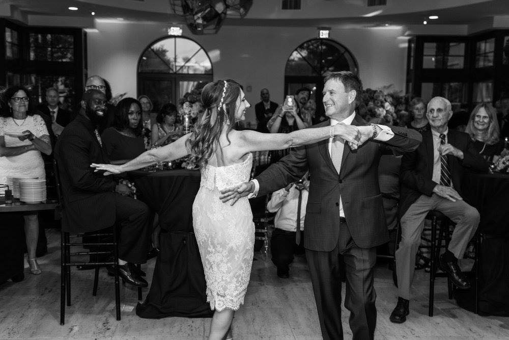 Classic Black and White Alfond Inn Wedding A Chair Affair Dance