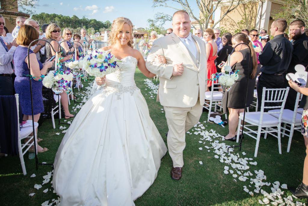 Disney-Inspired Wedding A Chair Affair Ceremony