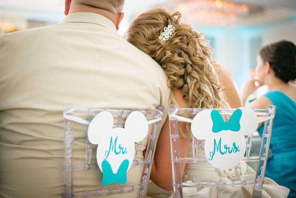 Disney-Inspired Wedding A Chair Affair Clear Chiavari Chairs
