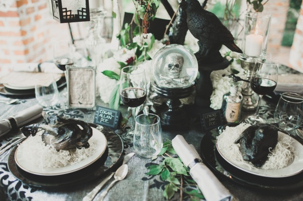 Halloween The Raven Casa Feliz A Chair Affair Black Chargers