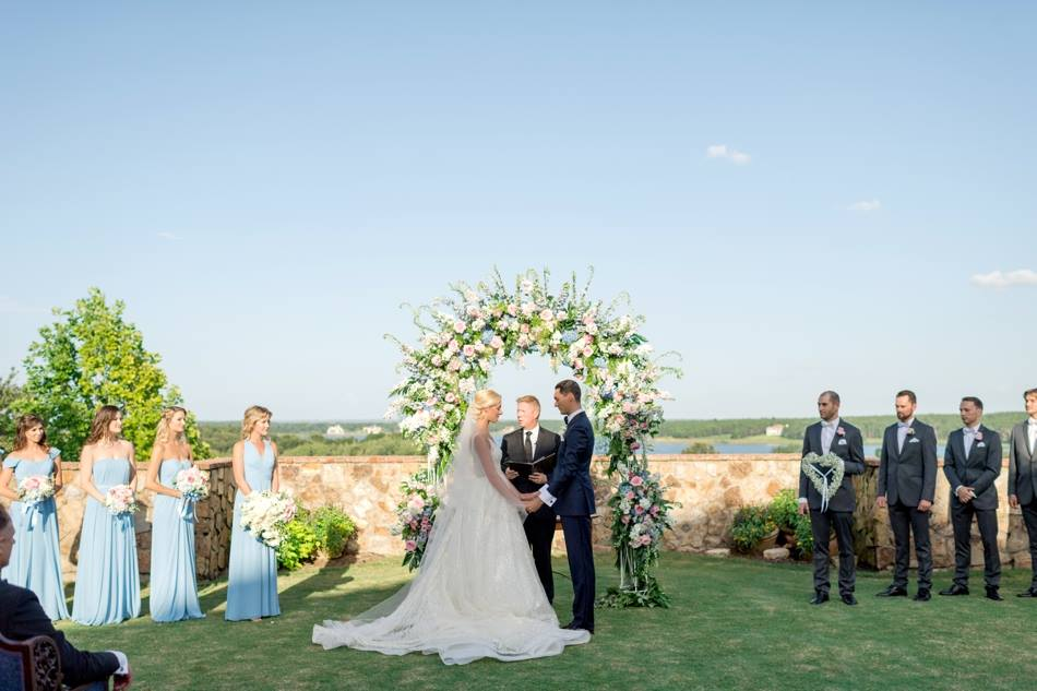 bella collina wedding a chair affair ceremony