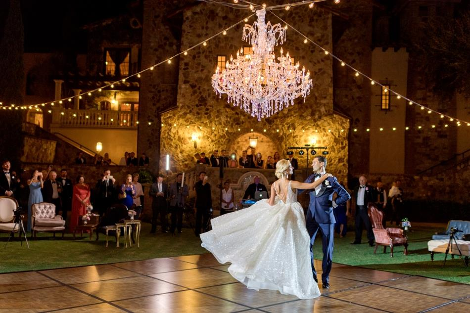 bella collina wedding a chair affair dance