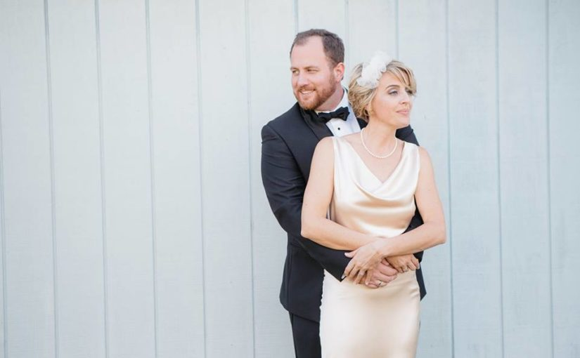 Timeless Black and White Wedding in Kissimmee