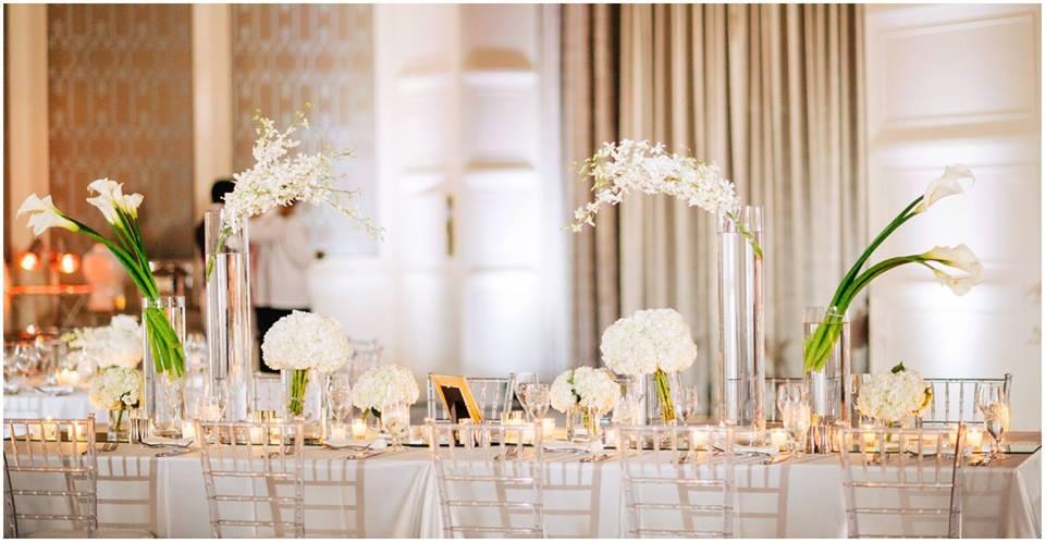 Classic White Wedding A Chair Affair Clear Chiavari Chairs Reception