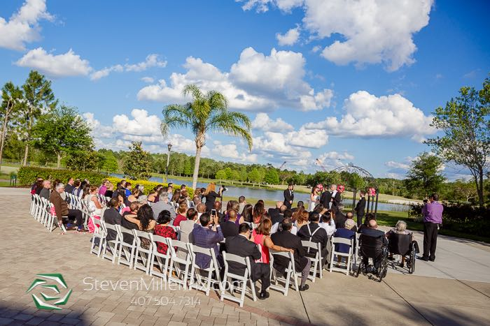 rosen shingle creek wedding A Chair Affair White Folding Chairs