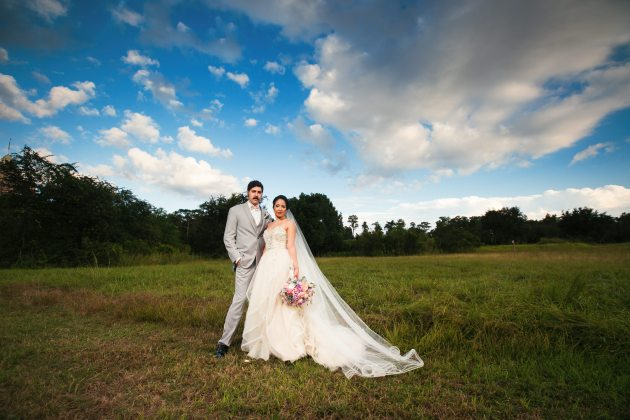 Ritz Carlton Orlando Florida Garden Style Wedding