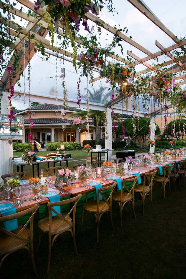 Garden Style Wedding A Chair Affair Reception French Country Chairs