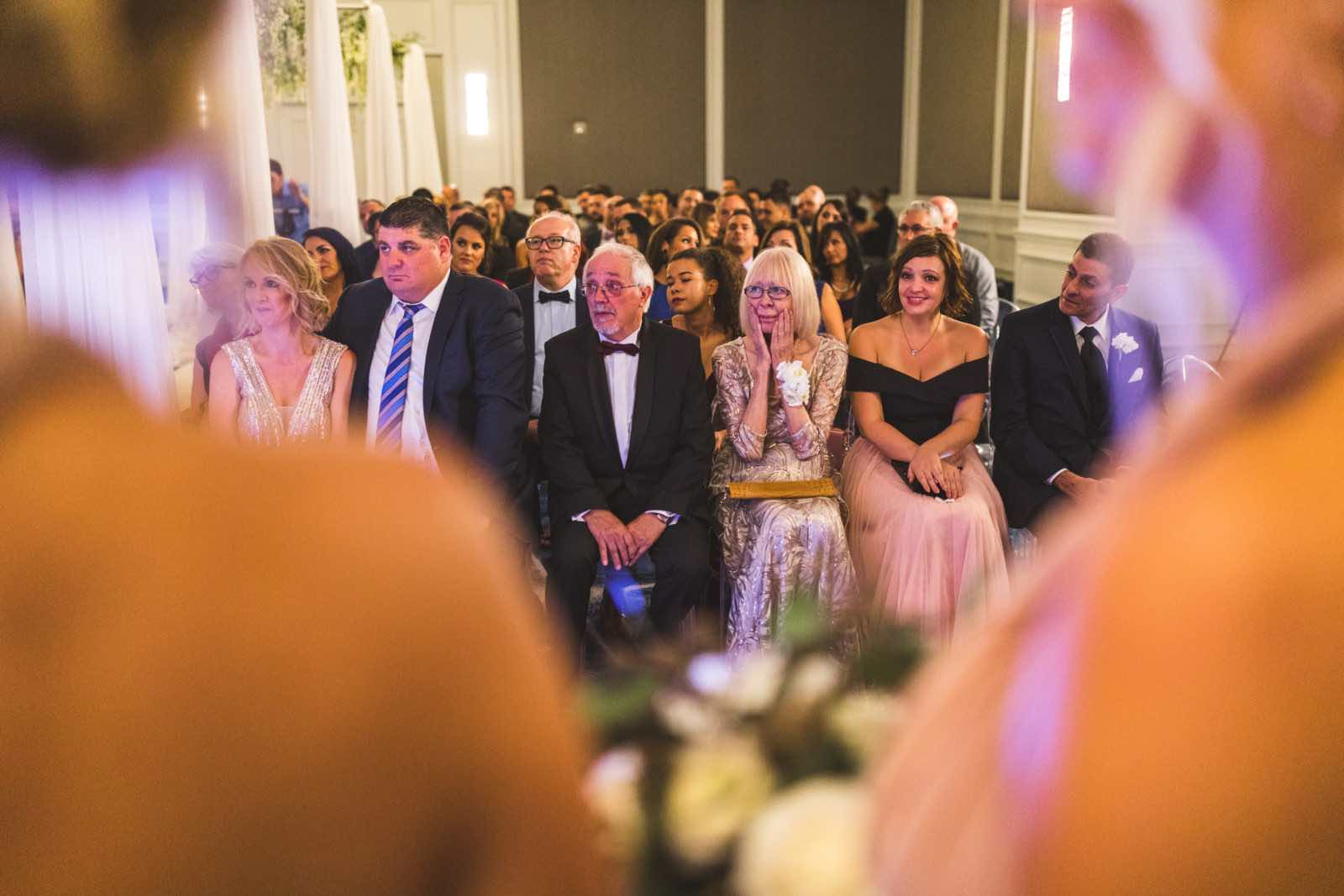 Ivory and Gold Wedding at the Ritz Carlton wedding a chair affair Sarasota Guests