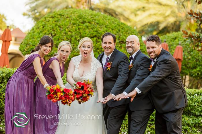 Renaissance Orlando Wedding – Red and Gold