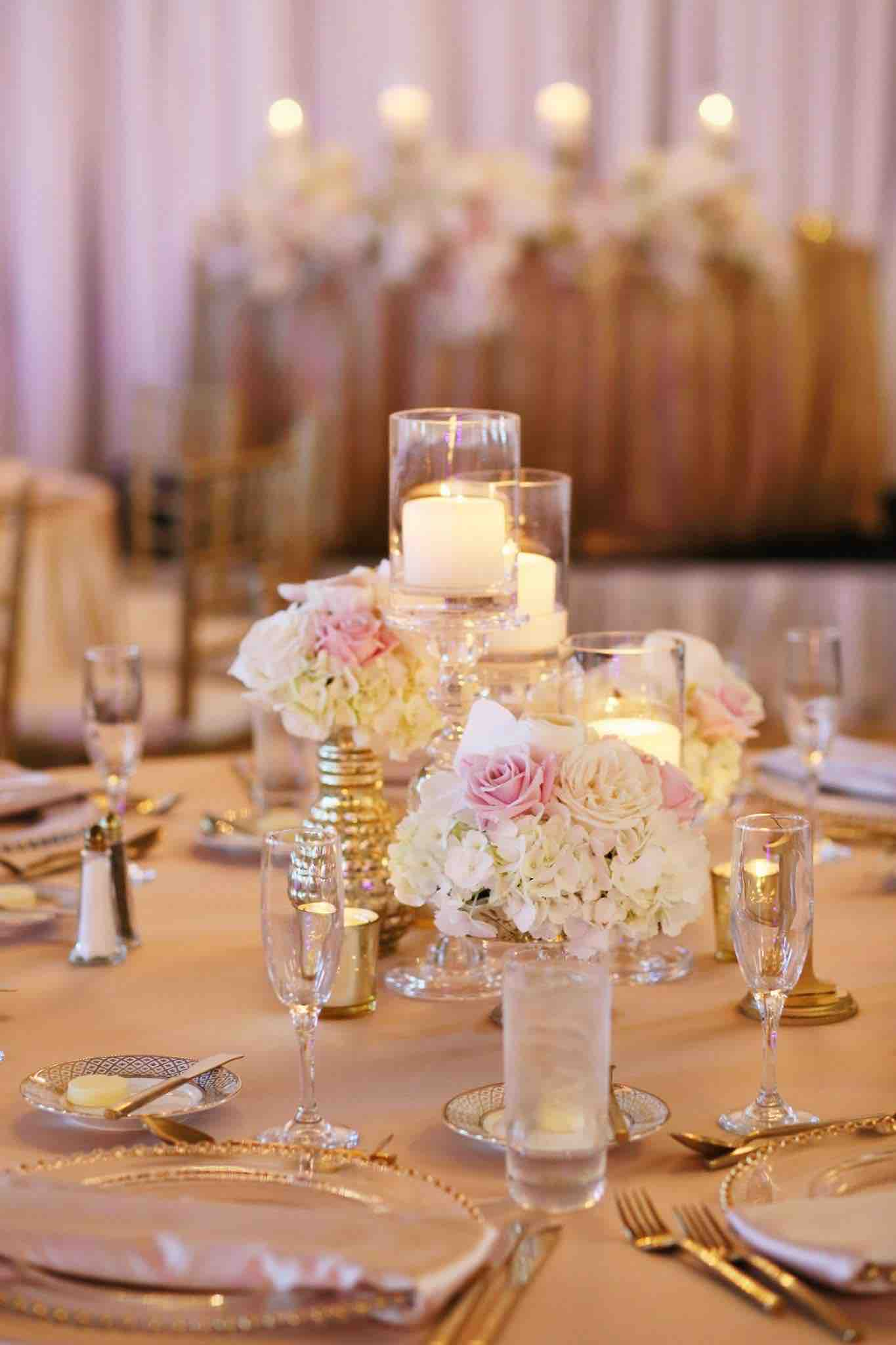 Sophisticated Blush and Gold Don CeSar Wedding A Chair Affair Gold Belmont Chargers
