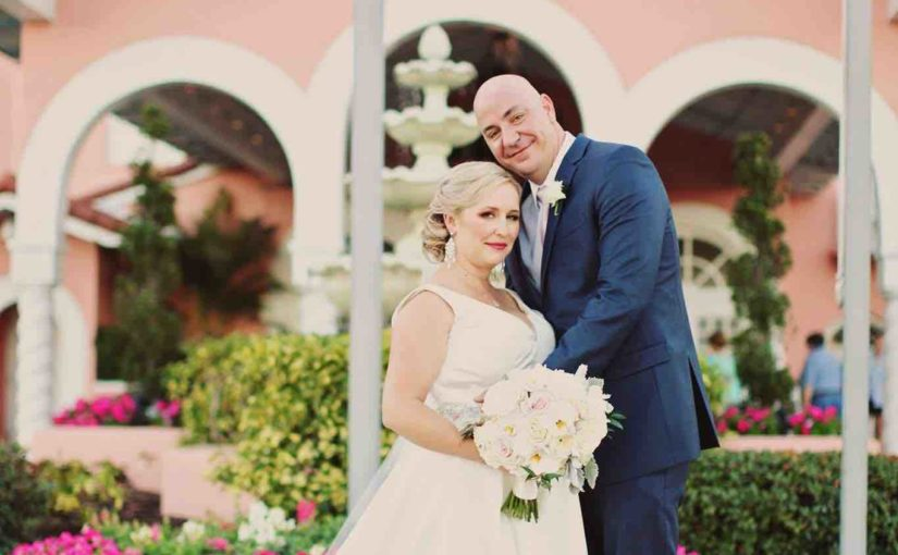 Don CeSar Wedding Sophisticated Blush and Gold