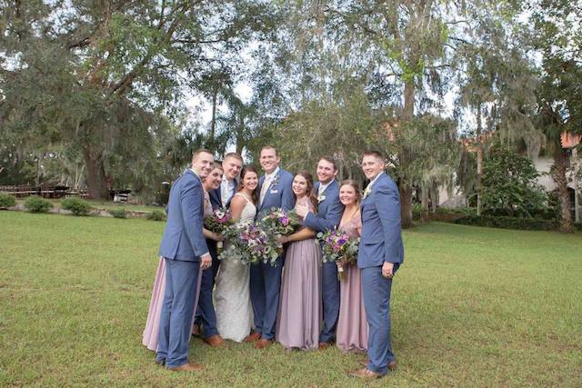 Fall Sydonie Mansion Wedding A Chair Affair Bridal Party