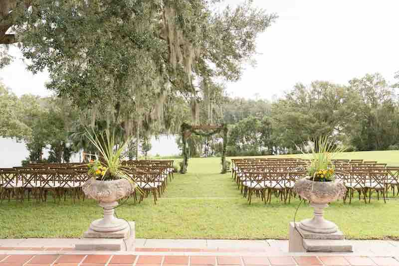 Fall Sydonie Mansion Wedding A Chair Affair French Country Chairs Ceremony Setup