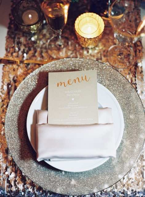 Thanksgiving Table Inspiration A Chair Affair Champagne Glitter Glass Charger