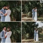 Tropical-inspired Apopka Wedding A Chair Affair Newlyweds 2