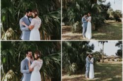 A Tropical-Inspired Apopka Wedding