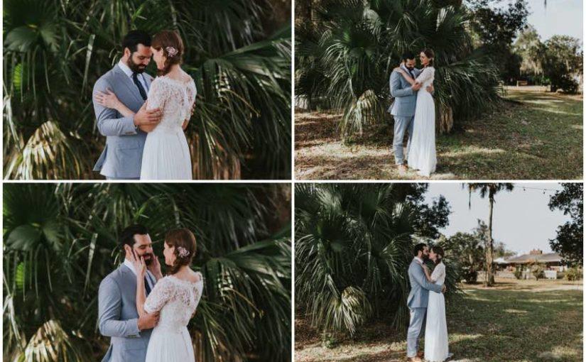 A Tropical-Inspired Apopka Wedding