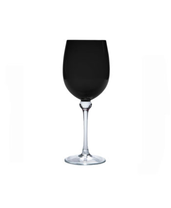 black goblet - A Chair Affair Rentals