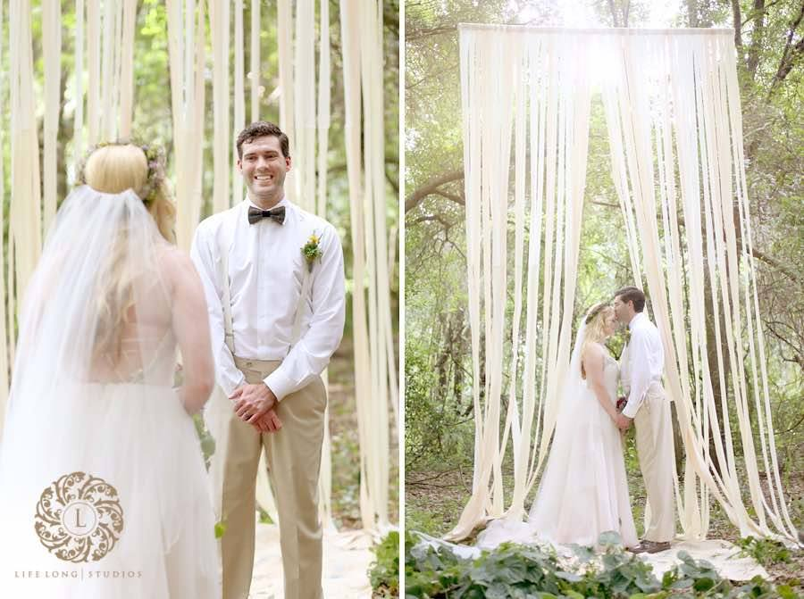 enchanted forest wedding a chair affair couple