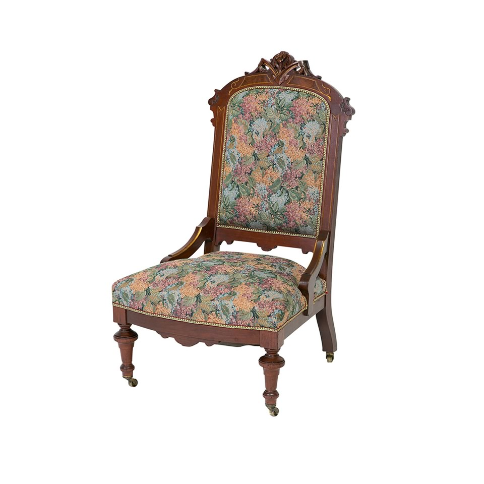 the geraldine armless chair - A Chair Affair Rentals