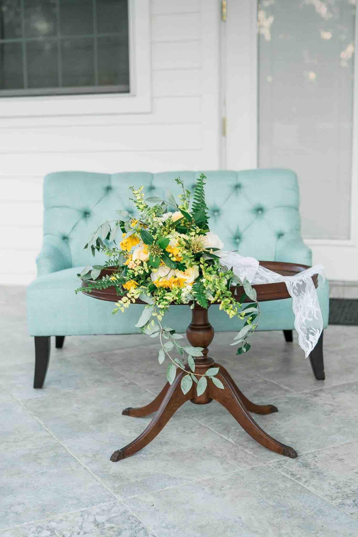 Arundel Estate Photoshoot A Chair Affair Savannah Seafoam Settee