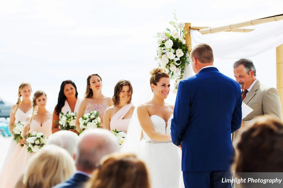 Hilton Clearwater Beach Wedding A Chair Affair Ceremony