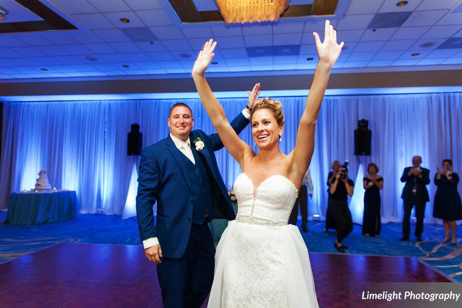 Hilton Clearwater Beach Wedding A Chair Affair Reception Couple