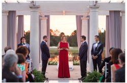 Blue and Silver LGBT Ritz Carlton Wedding