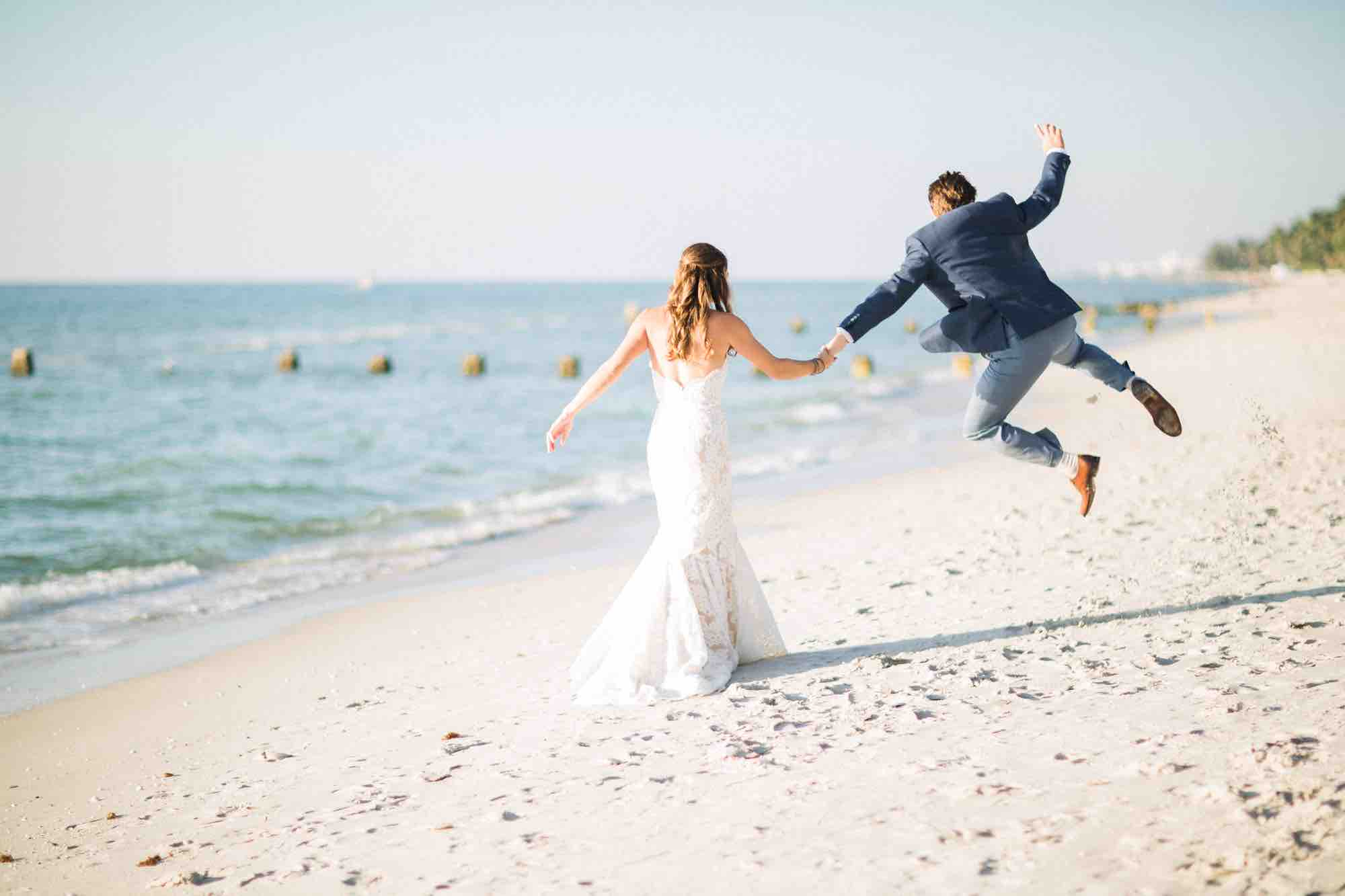 Luxurious Destination Wedding A Chair Affair Excited Groom