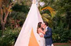 Cutlass Cove Beach Club Luxurious Destination Wedding Along the Beach