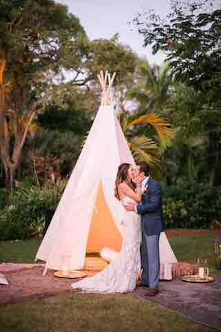 Cutlass Cove Beach Club Luxurious Destination Wedding Along the Beach