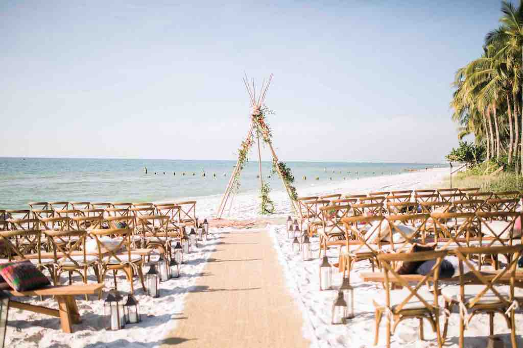 Luxurious Destination Wedding French country chairs