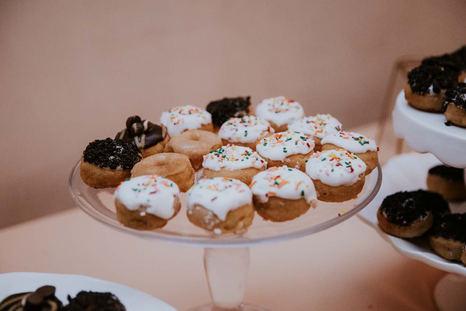 Rialto Theatre Wedding A Chair Affair Mini Doughnuts
