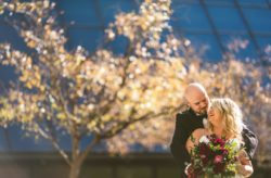 Romantic Cranberry and Gold Wedding at the Grand Bohemian Orlando