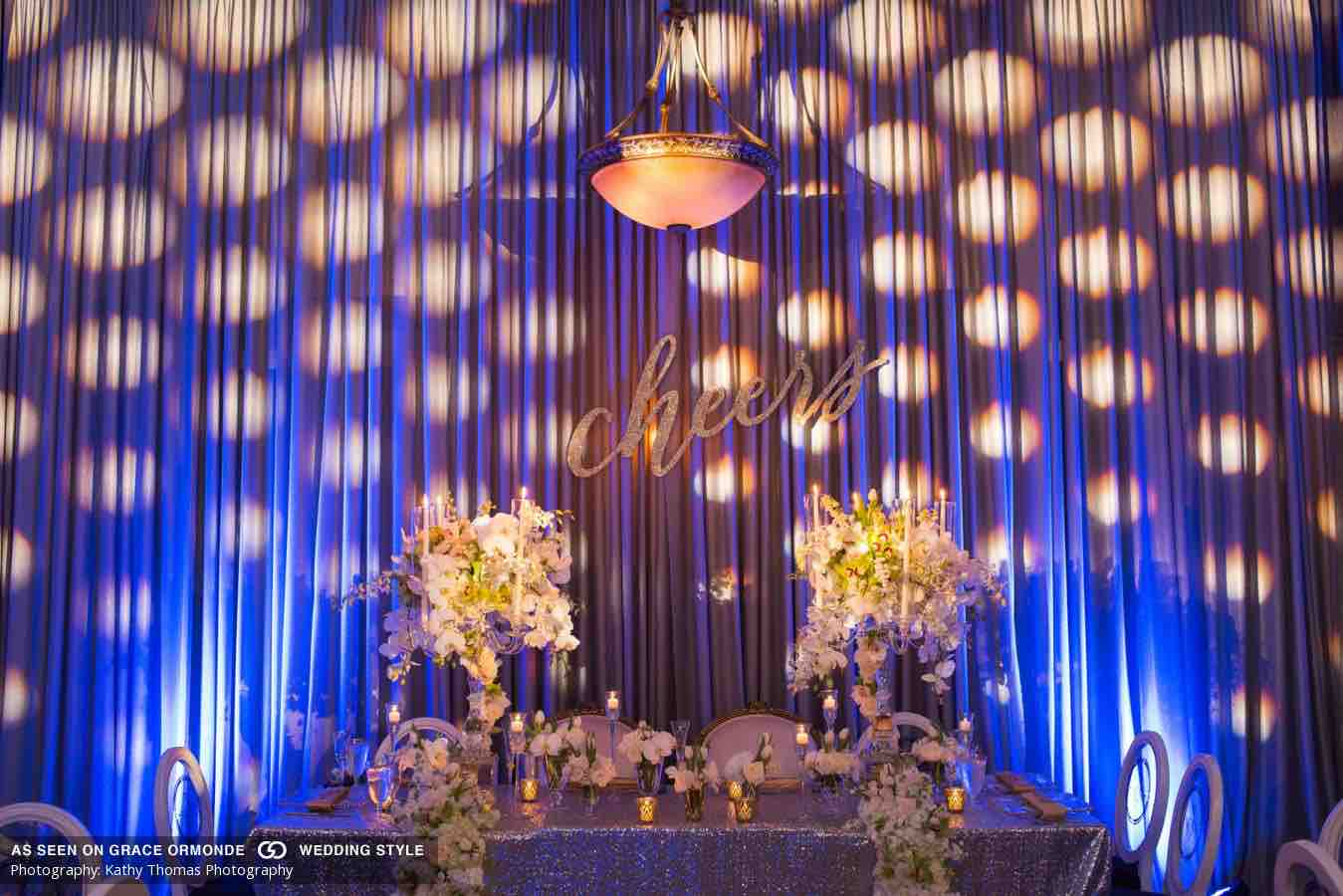white and navy wedding A Chair Affair reception