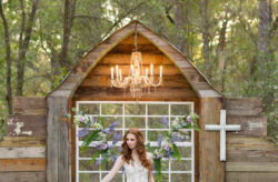 Bridle Oaks Barn Enchanting Forest Wedding Shoot