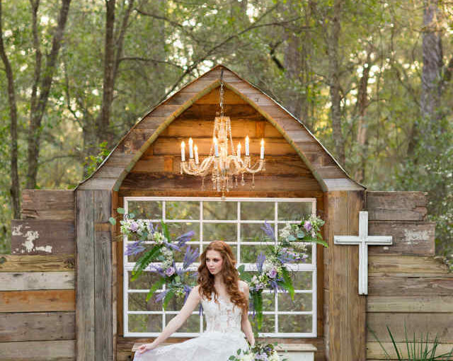 Enchanting Forrest Wedding Shoot at Bridle Oaks Barn