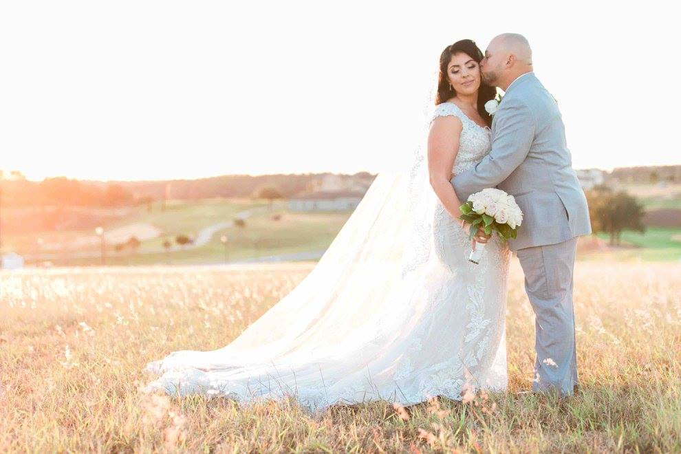Ivory and gold Bella Collina wedding A Chair Affair Christian and Jackie