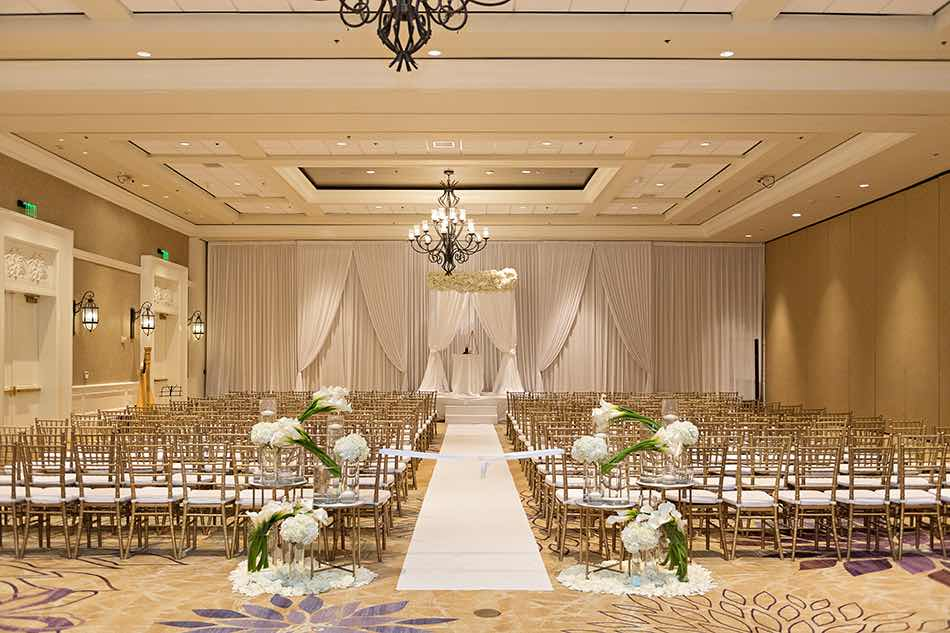 Jewish wedding A Chair Affair gold Chiavari chair